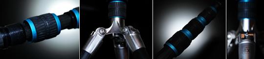 Gitzo dettagli trepiede 540x1202 Gitzo ocean traveler tripod, also for underwater use